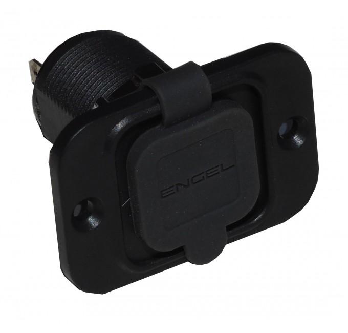 Built-in connector, flush mount